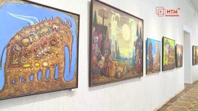 Выставка художника Юрия Дырина