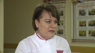 Людмила Ледяйкина – заместитель главного врача по педиатрической помощи республиканской центральной клинической больницы
