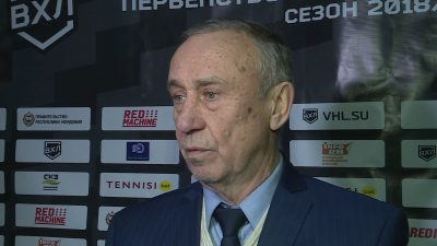 Юрий Воробьев – главный тренер ХК «Мордовия»