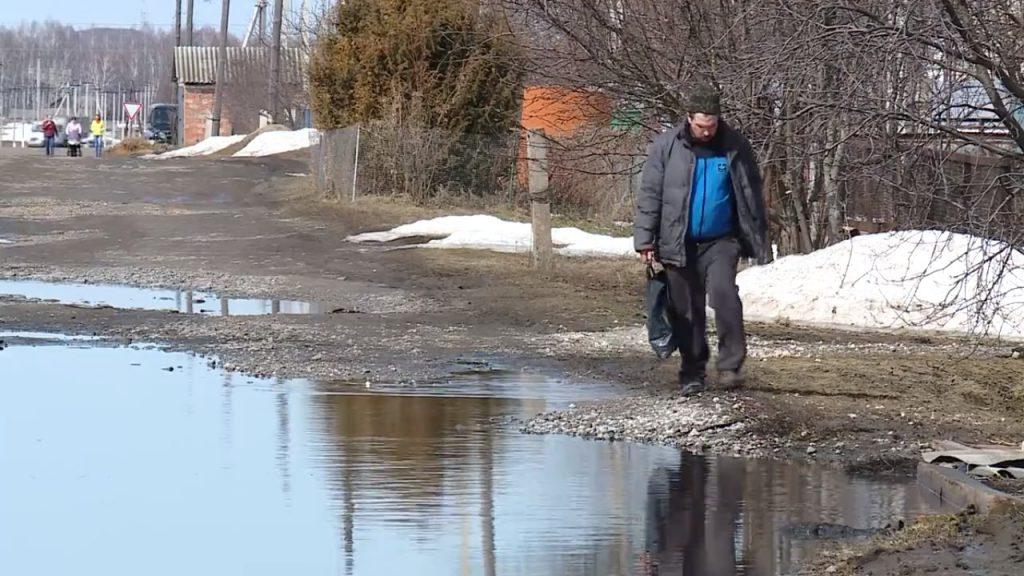 Паводок в Ичалковском районе