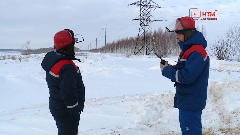 В Саранске от непогоды защищают линии электропередач