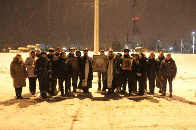 Автомобильный Крестный ход в шестой раз прошел в Саранске