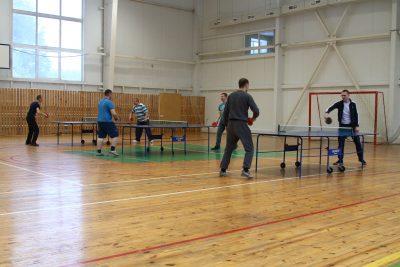 чемпионат по настольному теннису среди мужчин
