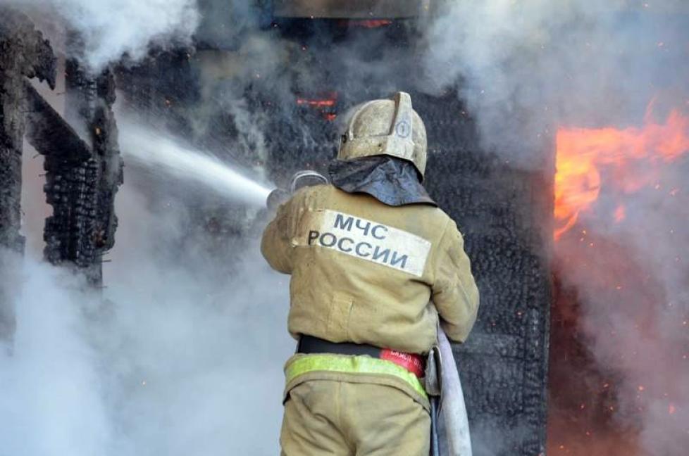 Пожары в Мордовии